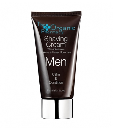 Men shaving cream