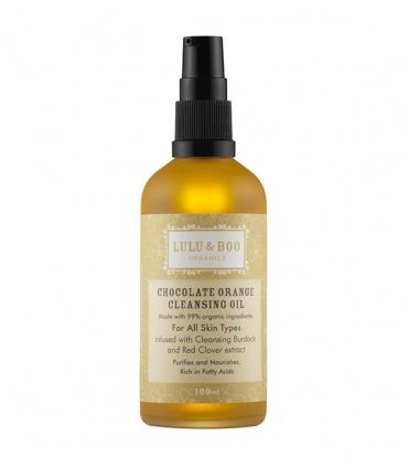 Limpiador facial en aceite de chocolate y naranja - 100ml