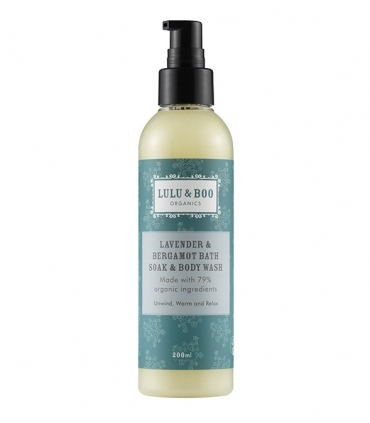 Lavender & Bergamot Bath Soak & Body Wash - 200ml