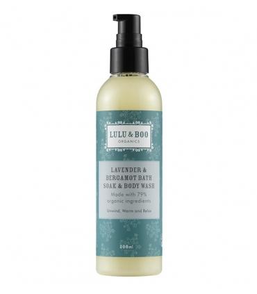 Lavender & Bergamot Bath Soak & Body Wash - 200ml