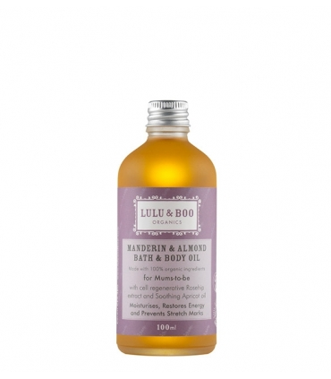 Manderin & Almond Bath Oil For-mums-to-be - 100ml