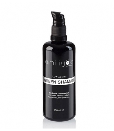 Bio-Limpiador facial en gel (Green Shaman) - 100ml