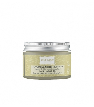 Crema hidratante y tonificante pieles grasas cártamo y ortiga - 40g