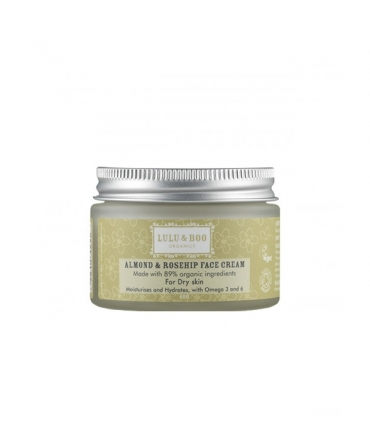 Almond and Rosehip Face Cream - 40g