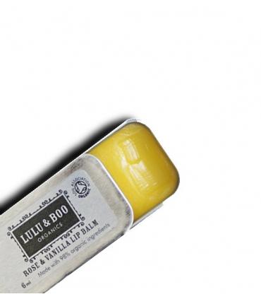 Rose and vanilla lip balm - 6ml
