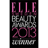 Elle Beauty awards 2013 best haircare products logo