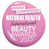 Premios Natural Beauty highly comprended logo 2015