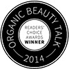 Premios Organic Beauty Talk 2014 logo