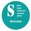 Free-from-skincare-awards-bronze