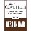 Best organic hair products award The Coveteue 2017 logo