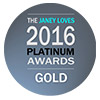 Green beauty awards janey loves 2016 gold logo